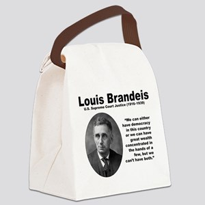 Brandeis Inequality Canvas Lunch Bag