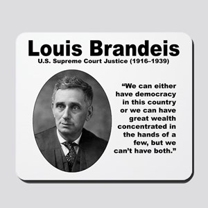 Brandeis Inequality Mousepad