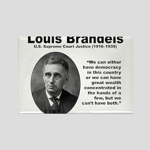 Brandeis Inequality Rectangle Magnet
