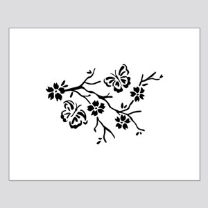 FLOWERS AND BUTTERFLIES Posters