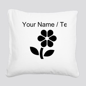 Daisy (Custom) Square Canvas Pillow
