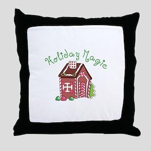 Holiday Magic Throw Pillow