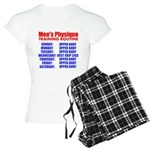 Mens Physique Training Routine Pajamas
