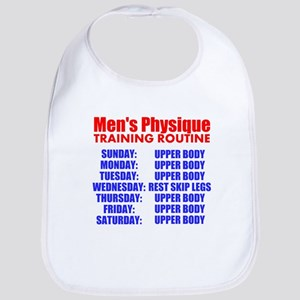 Mens Physique Training Routine Bib