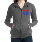 Mens Physique Training Routine Women's Zip Hoodie