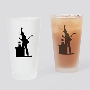 Chimney Sweep Drinking Glass