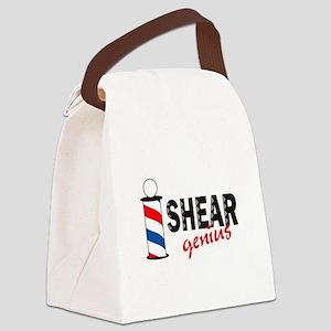 SHEAR GENIUS Canvas Lunch Bag