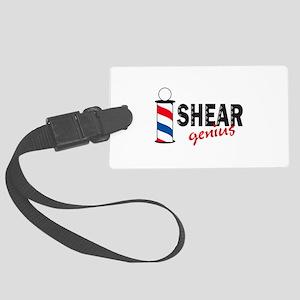 SHEAR GENIUS Luggage Tag