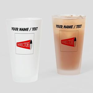 Directors Megaphone (Custom) Drinking Glass