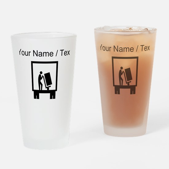 Delivery Service (Custom) Drinking Glass