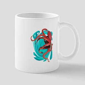 TENTACLES FORWARD Mugs