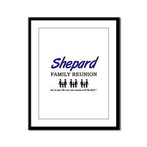 Shepard Family Reunion Framed Panel Print