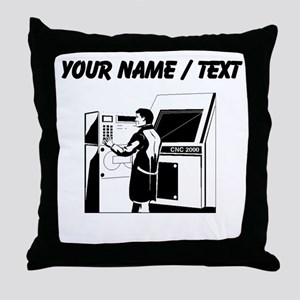 Computer Technician (Custom) Throw Pillow