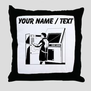 Computer Technician (Custom) Throw Pillow