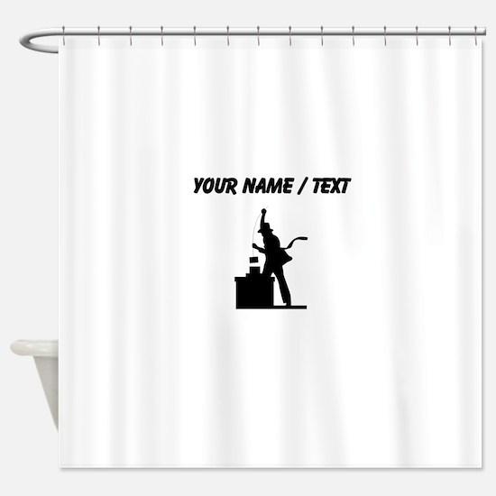 Chimney Sweep (Custom) Shower Curtain