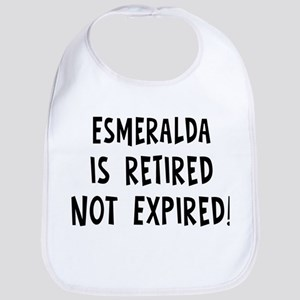 Esmeralda: retired not expire Bib
