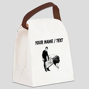 Car Salesman (Custom) Canvas Lunch Bag