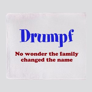 Drumpf Throw Blanket