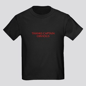 Thanks Captain Obvious-Opt red T-Shirt