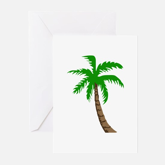 PALM TREE Greeting Cards