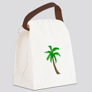 PALM TREE Canvas Lunch Bag
