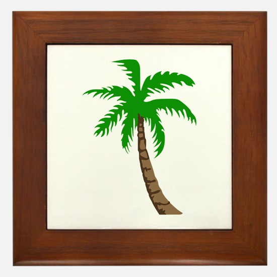 PALM TREE Framed Tile