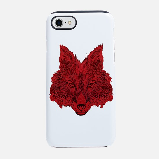 SEEING RED iPhone 7 Tough Case