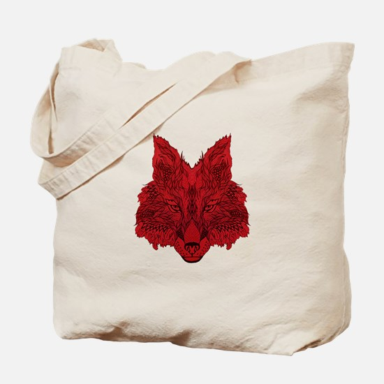 SEEING RED Tote Bag