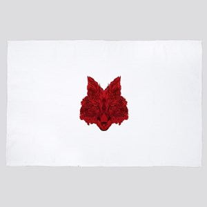 SEEING RED 4' x 6' Rug