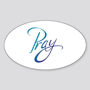 PRAY Sticker