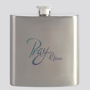 PRAY OFTEN Flask