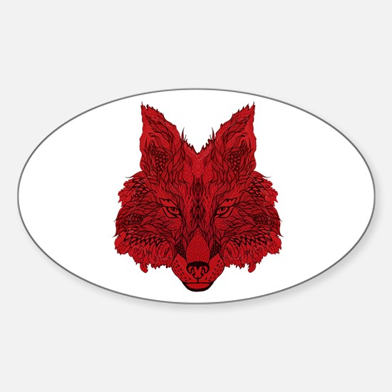 SEEING RED Decal