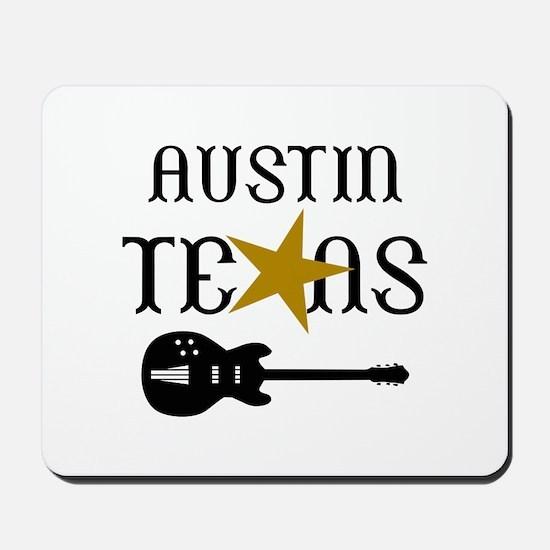 AUSTIN TEXAS MUSIC Mousepad