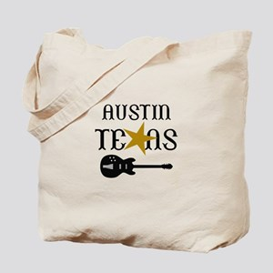 AUSTIN TEXAS MUSIC Tote Bag