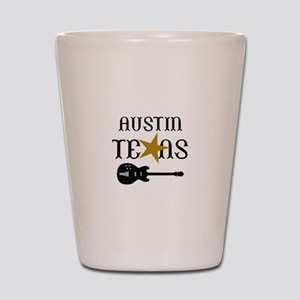 AUSTIN TEXAS MUSIC Shot Glass