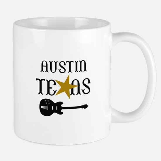 AUSTIN TEXAS MUSIC Mugs