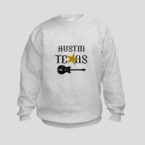 AUSTIN TEXAS MUSIC Sweatshirt