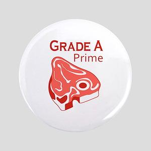 """GRADE A PRIME BEEF 3.5"""" Button"""