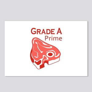 GRADE A PRIME BEEF Postcards (Package of 8)