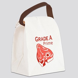 GRADE A PRIME BEEF Canvas Lunch Bag