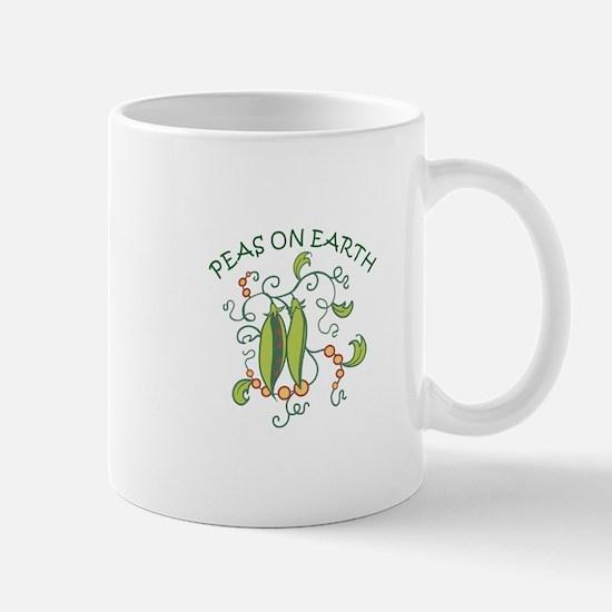 PEAS ON EARTH Mugs