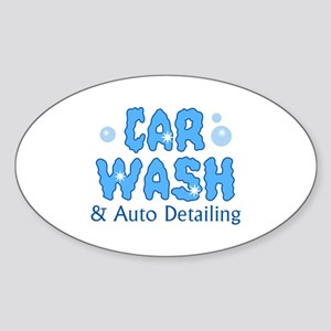 CAR WASH AUTO DETAILING Sticker