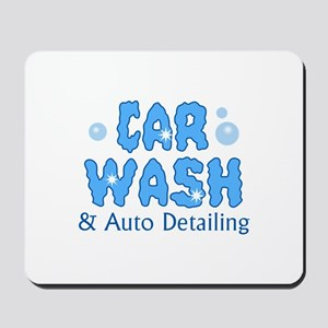 CAR WASH AUTO DETAILING Mousepad