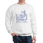 Fin Tan Dk Blue Sweatshirt