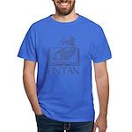 Fin Tan Dk Blue Dark T-Shirt