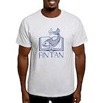 Fin Tan Dk Blue Light T-Shirt