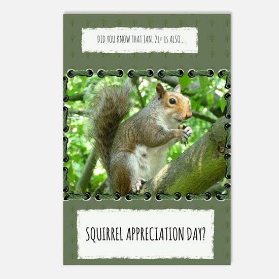 Cute Appreciation Postcards (Package of 8)