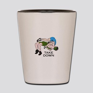 Take Down Shot Glass