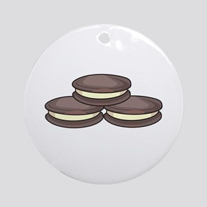 SANDWICH COOKIES Ornament (Round)