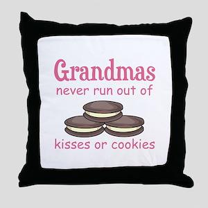GRANDMAS COOKIES Throw Pillow